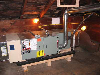 Where do you put your geothermal heat pump if you are building a home with a crawl space, or it is slab on grade and you do not have a large enough mechanical room?